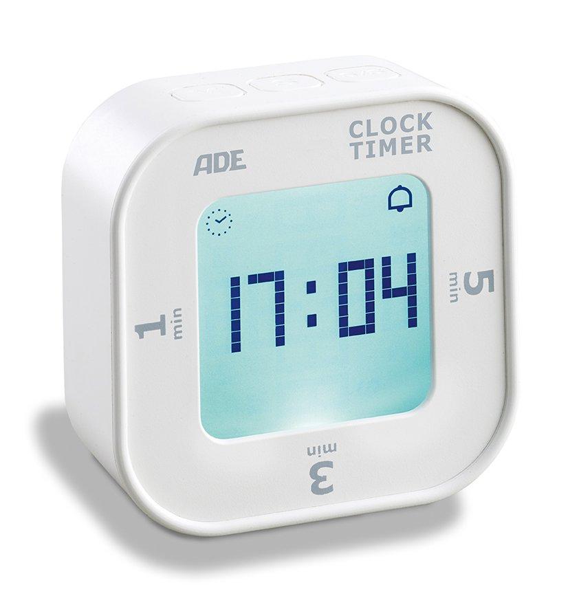 Digital timer with tilt start