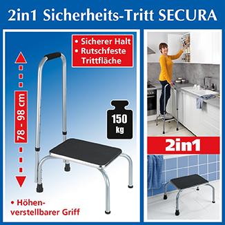 Sicherheitstritt SECURA 2-in-1