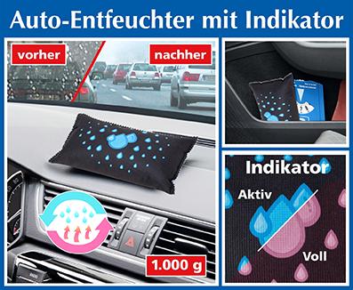 Auto-Entfeuchter mit Indikator, 1 Stk.