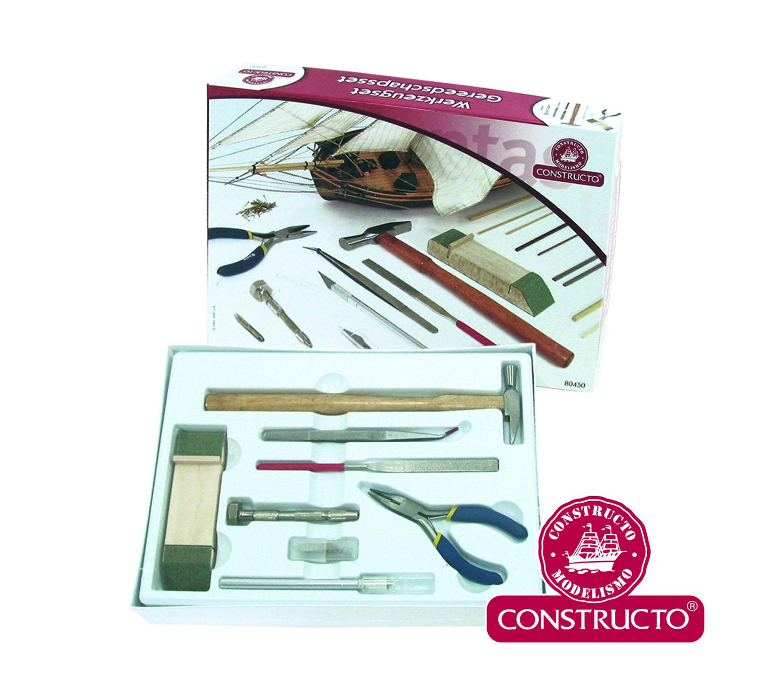 CONSTRUCTO Grundwerkzeug-Set