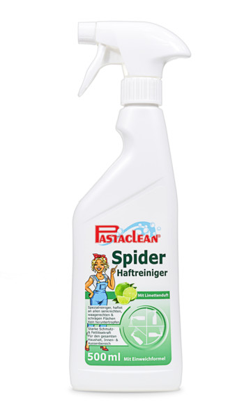 Pastaclean Spider Haftreiniger - kein Heruntertropfen mehr - 500ml