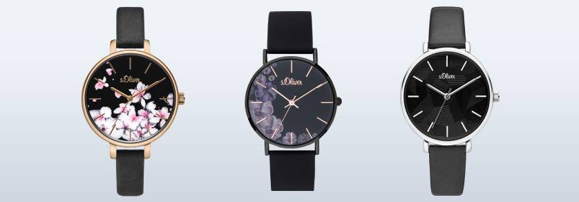 s. Oliver watch straps