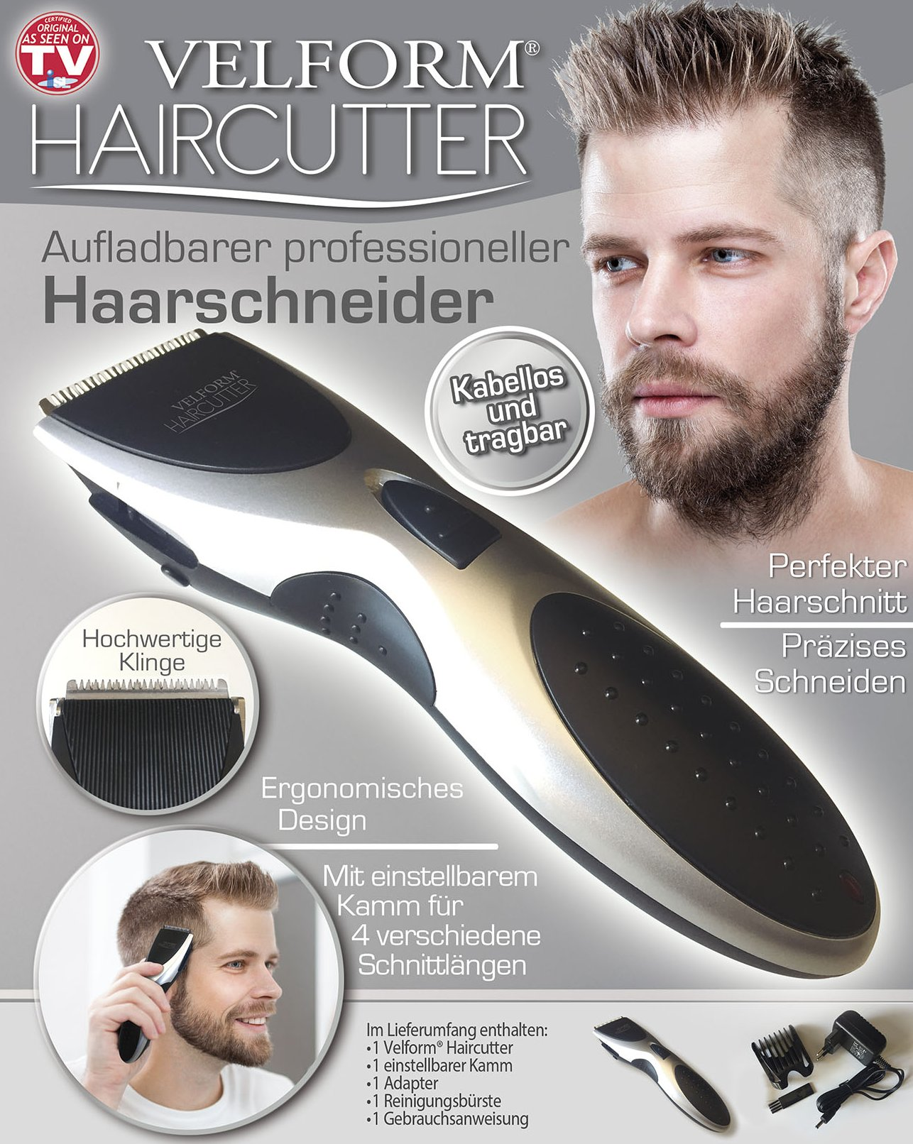Haarschneider kabellos und aufladbar