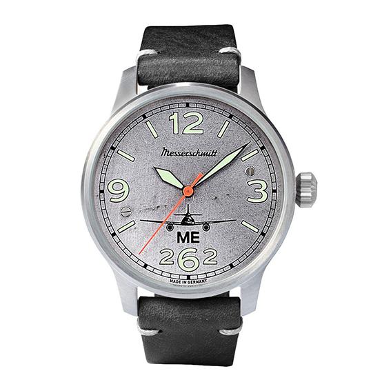 MESSERSCHMITT Aero mit echtem Flugzeugblech - jede Uhr ein Unikat
