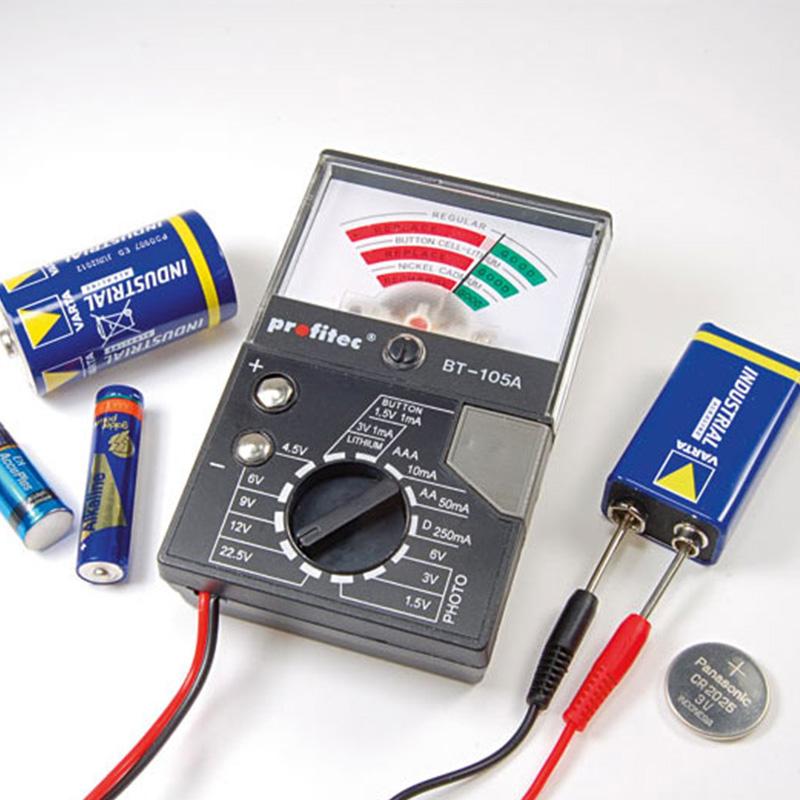 Universal-Batterietester