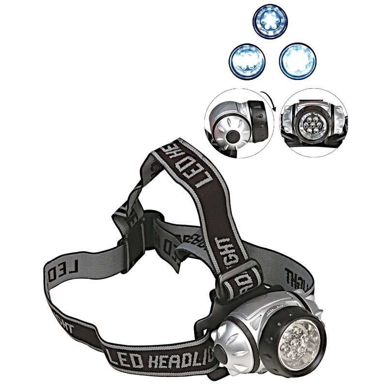 Kopflampe mit 7-fach-LED