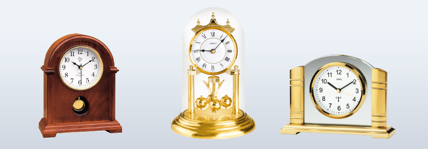 Table- and Anniversary Clocks