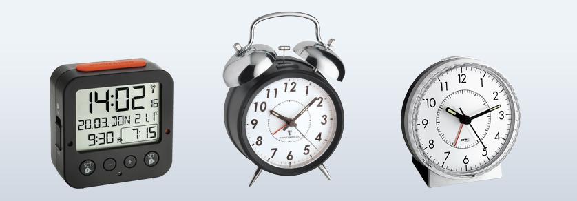 Alarm Clocks, Timers and Miniature Clocks