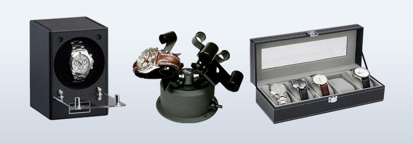 Watch winder & jewellery cases